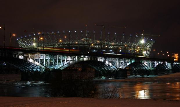 #noc #stadion #światło