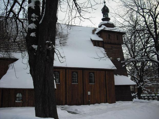 kościółek M.B.Szkaplerznej -Tarnów #zima #zabytki