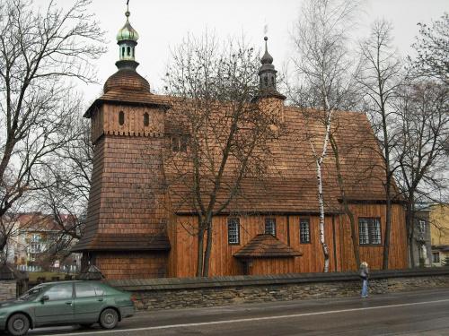 Tarnów-kościółek M.B.Szkaplerznej na Burku. #Tarnów #zabytek #DrewnianyKościółek