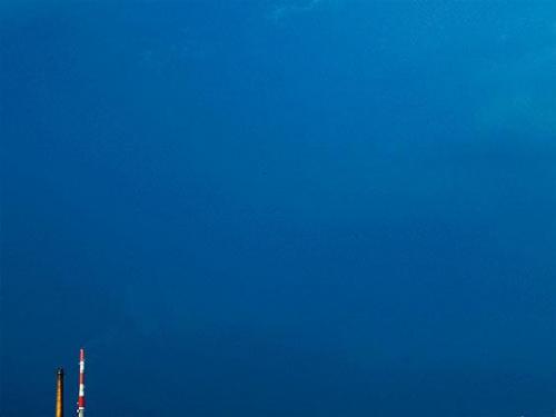 #miasto #kominy #NiebieskieNiebo