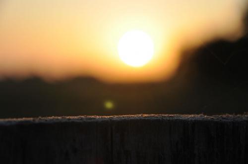#słońce #ZachódSłońca #kurz