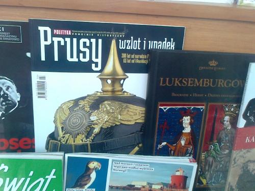 Polityka : Prusy wzlot i upadek. kwiecień 2012