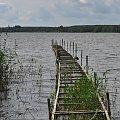 #miedwie #jezioro #mostek #widok
