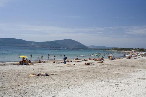 Plaża w Alghero...