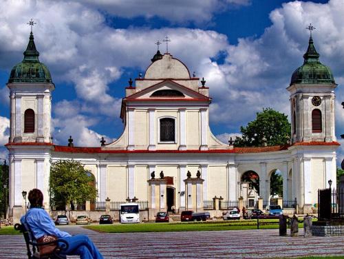 Tykocin - kościół Świętej Trójcy