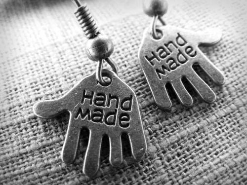 :) #HandMade #kolczyki