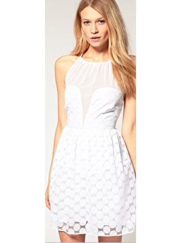 sukienka biała ubrania