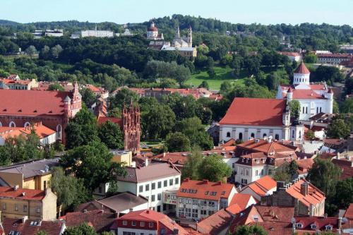 miasto Wilno z Góry Giedymina #Wilno
