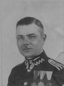 starszy wachmistrz sztabowy Władysław Wienke