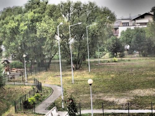 burza #burza #chmury #deszcz #osiedle