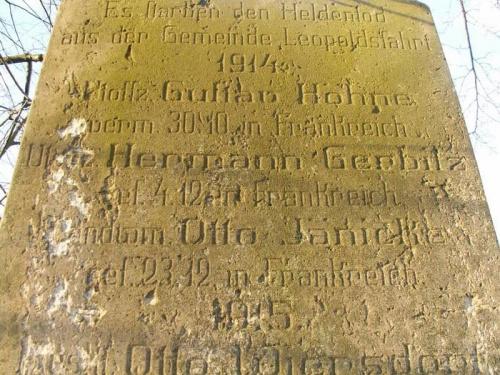 Pomniki poświęcone ofiarom I wojny światowej 765745e94dedae70med
