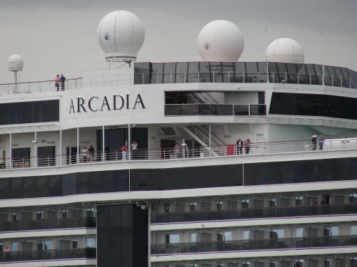 """Arcadia"" #Prom #statek #morze #Arcadia"