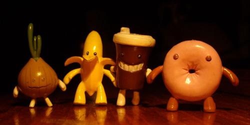 Trochę mi się nudziło :) :) :) Kawa nie chciała stać samodzielnie i wymagała przytrzymania ale na przyjaciół z paczki zawsze można liczyć ;)
