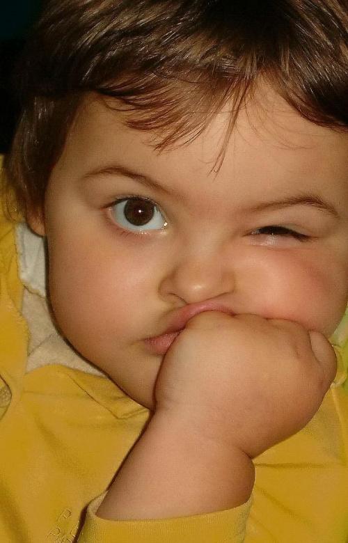Panna Aga #dziecko #portret #minka