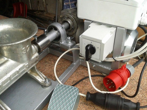 Poważne Fotki maszynek elektr i mieszarek-własne wykonanie - strona 5 YK62