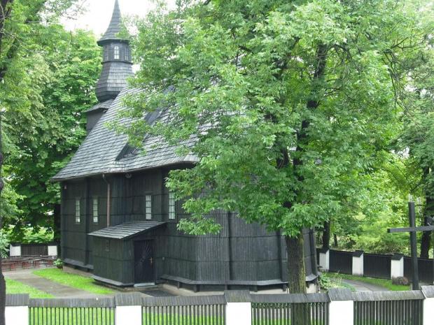 Tarnów-kościół Trójcy św. #DrewnianyKościółek #Tarnów