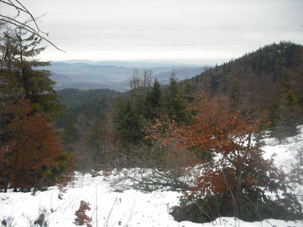 Gorce.Widok ze szlaku na Lubań. #Gorce #góry