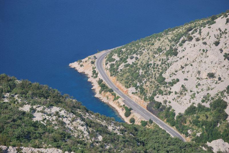 Chorwacja tanie kwatery euro voda mapa