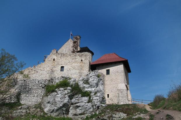 Zamek Bobolice-ciągle dzień pierwszy. #zamek #bobolice #zwiedzanie