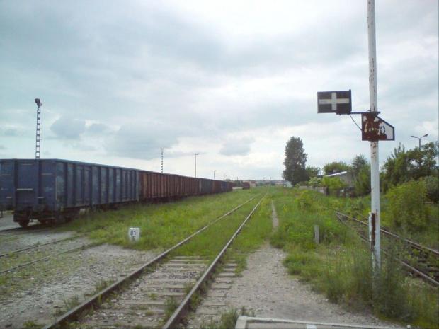 Stacja w Opocznie widok w kierunku Tomaszowa Maz. #PKP #Opoczno