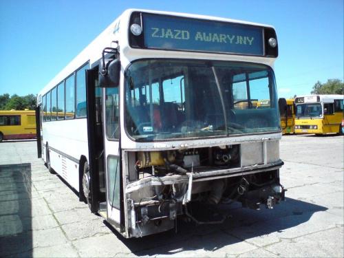 Dab #44 po kolizji , auto osobowe wymusiło na autobusie pierwszeństwo i oto tego skutki ... #DabSilkeborg #mzk #TomaszówMaz