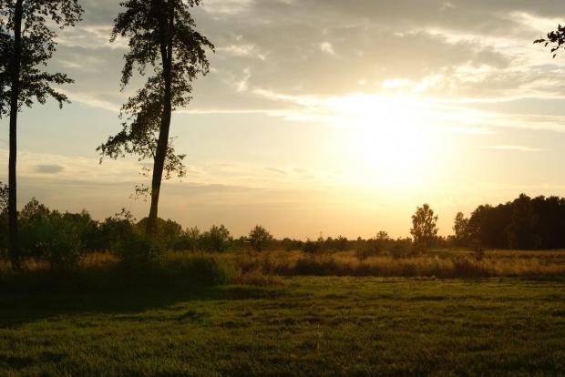 #ZachódSłońca #lato #krajobraz