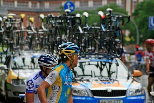 """Wyscig kolarski """" Vattenfall 2010 """" w Hamburgu #rowery #wyscig #etap #sport #kolarstwo"""