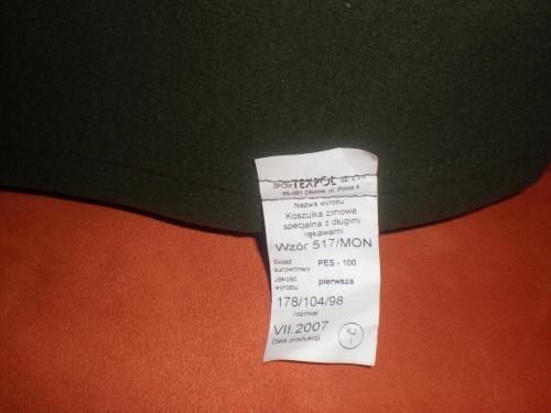 Zapraszam na moje aukcje Allegro - julietta_pp #armia #wojsko #umundurowanie #żołnierz #koszula #moro #aukcja #allegro #sprzedam #mapnik #OcieplaczPolarowy #PasŻołnierski