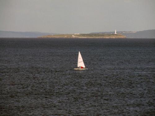 Łódka na morzu #Woda