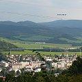 Panorama Pradziada (Jeseniky) ze wzgórza Priessnitz nad Jesenikiem (Rep.Czeska) #Pradziad #Jesenik #Jeseniky #Predad #Czechy #panorama