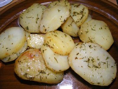 ziemniaki z koperkiem