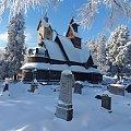 Ewangelicki Kościółek Wang w pięknej zimowej szacie :) #Karpacz #KościółekWang #zima #Karkonosze
