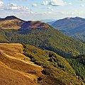 jesienne Bieszczady #Bieszczady #panorama #góry #KrajobrazyiPrzyroda #jesien #miejsca