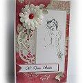 #Kartka #życzenia #czerwień #miłość #ślub
