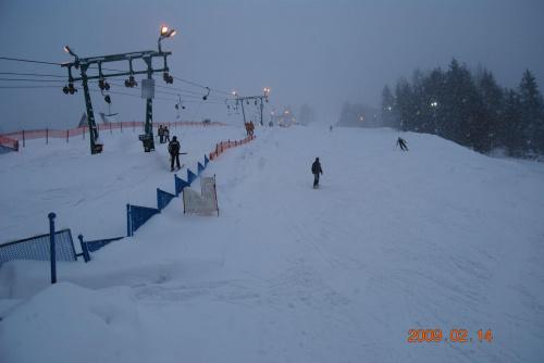 Wyciag ;P zrobione jak jezdzilem na desce snowbordowej oczywiśce :P #Wyciąg #śnieg
