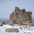 Ze Słonecznika przy dobrej przejrzystości rozciągają się przepiękne widoki.. #karkonosze #zima #karpacz #góry