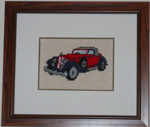Kolekcja samochodow-1 #hafty