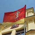 Flaga miasta Lomnice n. Popelkou #Czechy #miasto #rynek